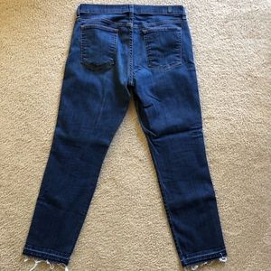 7 For All Mankind Jeans - 7 For All Mankind Slim Straight Crop